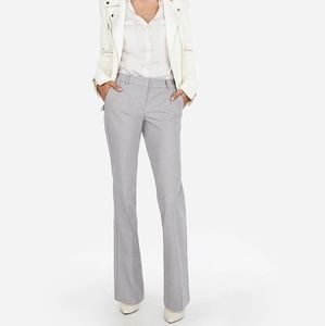 EXPRESS NWT DRESS PANTS FLARE SIZE 10 THE EDITOR